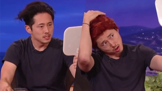 Steven Yeun Doesn't Need To Worry About His Future After 'The Walking Dead' Thanks To Conan