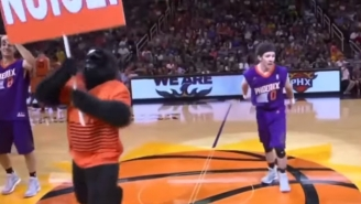 A Phoenix Suns Dancer Face-Planted, And It's The Perfect Metaphor For The Team's Start