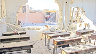 UN: Airstrikes Kill Dozens At A Syrian School, May Be The Deadliest Attack Of The War