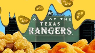 Ranking The New Texas Rangers Stadium Food From 'Looks Okay' To 'What The Hell Is Wrong With You?'