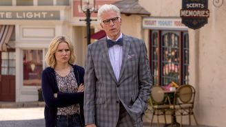 Review: On 'The Good Place,' Eleanor tries to avoid going to The Bad Place