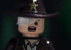 There's A Lego Recreation Of 'The Walking Dead' Negan Scene For Those Who Can't Handle The Real Thing