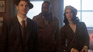 Review: NBC's time-travel adventure 'Timeless' gets the human element right
