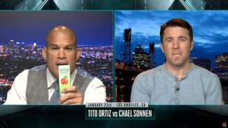 Tito Ortiz Still Has Problems With Words, Calls Chael Sonnen A 'Juicy Juice Boy'