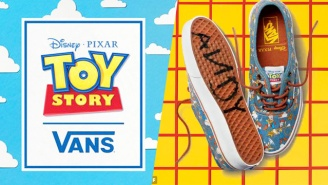 Vans' 'Toy Story' Collection Is Cranking Internet Nostalgia Levels To Eleven
