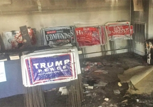 Some Democrats Raised Over $13,000 To Reopen The Firebombed North Carolina GOP Headquarters