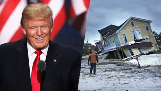 Report: Donald Trump Made 'Apprentice' Staffers Work Through The Superstorm Sandy Aftermath