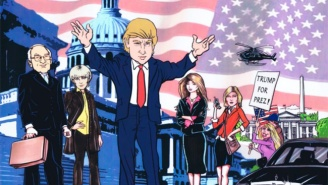 We Almost Got A Donald Trump Cartoon Show In Which He 'Took Over' Washington