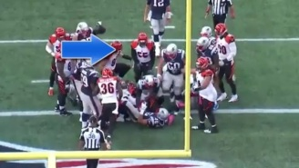 Cameras Caught Vontaze Burfict Delivering Yet Another Cheap Shot By Stomping On LeGarrette Blount
