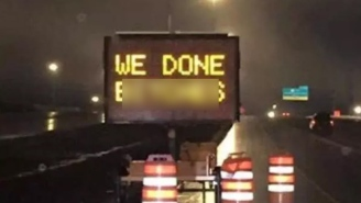 A Vulgar Construction Sign Has The Canadian Transportation Ministry Saying 'Whoops, Sorry'