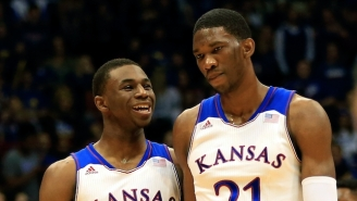 If Andrew Wiggins Could Posterize Anyone In The NBA, It Would Be 'My Boy JoJo Embiid'
