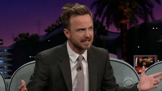 Aaron Paul Explains How A 'Buy One Get One Free' Python Deal Kept Him Single For Awhile