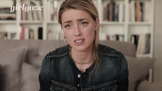 Amber Heard Speaks Out Against Domestic Violence In Her Powerful New GirlGaze PSA
