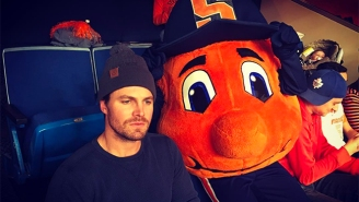 'Arrow' Star Stephen Amell Got Headbutted By A Fan At A Syracuse Football Game