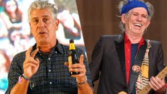 Anthony Bourdain's Dream Experience Is A Cooking Odyssey With Rolling Stones Legend Keith Richards