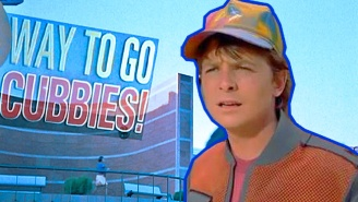Michael J. Fox Marks The Cubs World Series Victory With A Necessary Reference To 'Back To The Future'