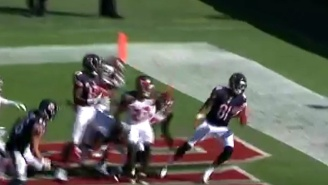 The Bears Found The End Zone On This Crazy Hail Mary Against The Buccaneers