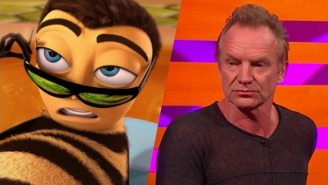 Sting Confirms That He's Been Stung By Bees