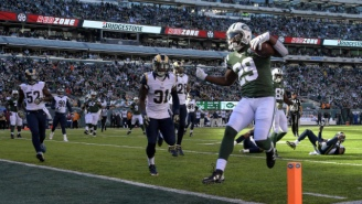 The Jets Scored A Touchdown Thanks To This Clever Hook And Ladder In The Red Zone