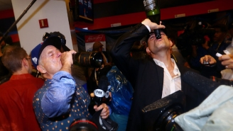 Bill Murray's Champagne-Fueled Interview Of Theo Epstein Was The Best Moment Of The Cubs Celebration