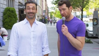 Billy Eichner And Jon Hamm Ask New Yorkers For A Threesome In This New 'Billy On The Street' Clip