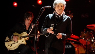 Bob Dylan Is Too Busy To Attend The Nobel Prize Ceremony