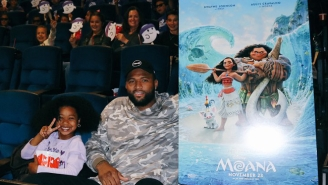 DeMarcus Cousins Took 150 Kids To See 'Moana' Because Not Every Boogie Story Is Bad