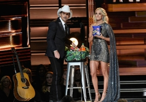 Carrie Underwood And Brad Paisley Roasted This Endless Election Cycle In Their CMA Opener