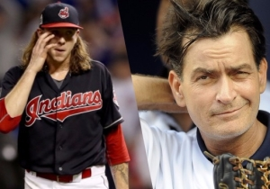 Charlie Sheen Is Mad Online At The Idiot Indians For Not Letting Him Throw Out A First Pitch