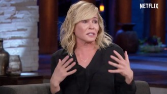 Chelsea Handler Breaks Down In Tears On Her Netflix Show Discussing Hillary's Loss