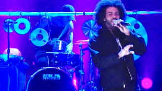 Watch Clipping's Air-Tight Performance Of 'Air Em Out' On 'Conan'