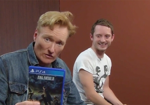 Conan Is Completey Weirded Out By 'Final Fantasy XV' In The Latest Clueless Gamer