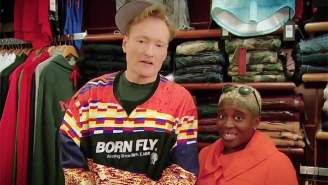 Conan Hits The Streets Of Harlem To Kick Off His Hilarious Return To New York City
