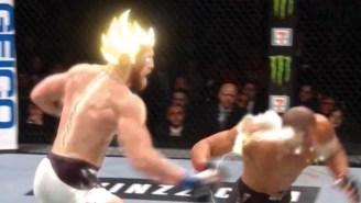 Conor McGregor's Destruction Of Eddie Alvarez Got The Super Saiyan Treatment