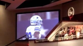Church Couldn't Stop These Dallas Fans From Watching Their Beloved Cowboys