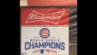 The Cubs Nearly Jinxed Themselves By Prematurely Prepping Their Locker Room With 'Champions' Banners