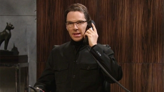 Benedict Cumberbatch Becomes The Evil Villain He Was Born To Play On 'SNL' With Disappointing Results