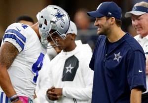 Jerry Jones Has No Clue What To Do With Tony Romo And Dak Prescott