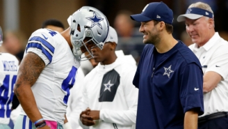 Jerry Jones Has No Clue What To Do With Tony Romo And Dak Prescott