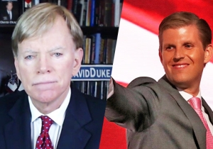 Eric Trump Doesn't Hold Back His Feelings On David Duke: He 'Does Deserve A Bullet'
