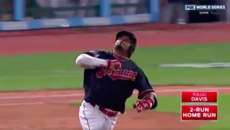 Rajai Davis Sent Cleveland Into A Frenzy With An Unbelievable Game-Tying Homer In The 8th Inning