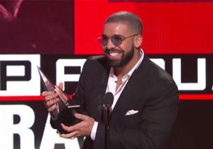 Drake Gave Nina Dobrev An Adorable 'Degrassi' Shout-Out At The AMAs
