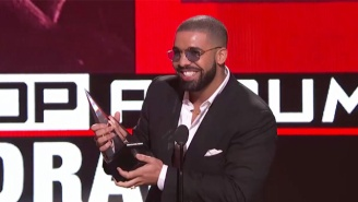 Drake Gave Nina Dobrev An Adorable 'Degrassi' Shout-Out At The AMAs