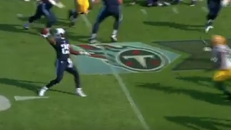 DeMarco Murray Showed Off His Arm On This Touchdown Pass To Delanie Walker