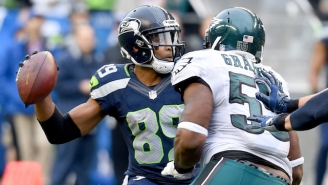 Doug Baldwin Flipped His Coach The Bird After Being Asked To Throw A Touchdown Pass