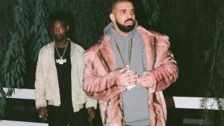 Drake And 21 Savage Keep It Lo-Fi For The 'Sneakin' Video