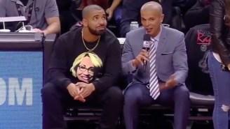 Drake Invited Doris Burke Over For Dinner Live On ESPN And She Said Yes