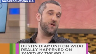 Dustin Diamond Apologizes To His 'Saved By The Ball' Costars For All That Crap He Did