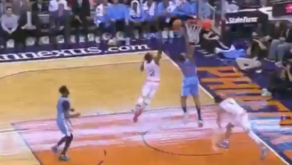 Eric Bledsoe Tracked Wilson Chandler Like A Cheetah For This Vicious Chase-Down Block