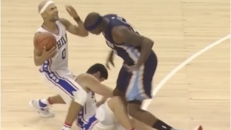 Ersan Ilyasova Knocked Down His Own Teammate With This Hilarious Flop
